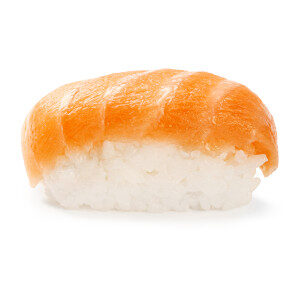 Nigiri de salmón